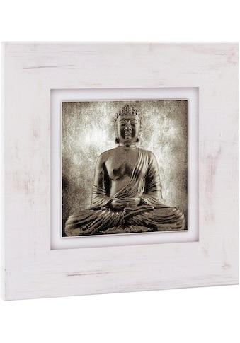 Home affaire Holzbild »Sitzender Buddha« kaufen