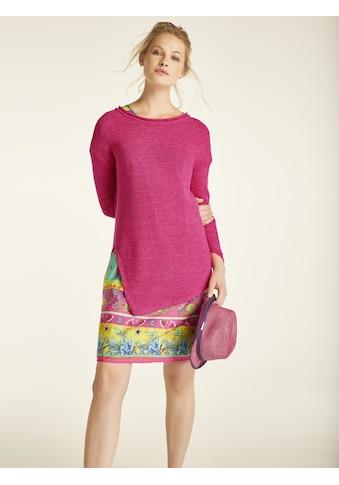 Pullover mit hohem Seitenschlitz kaufen