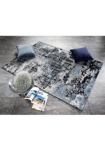 OCI DIE TEPPICHMARKE Teppich »Silent«, rechteckig, 5 mm Höhe, Flachgewebe, Wohnzimmer kaufen