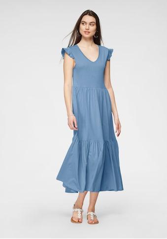 Only Jerseykleid »ONLMAY«, mit Volant kaufen