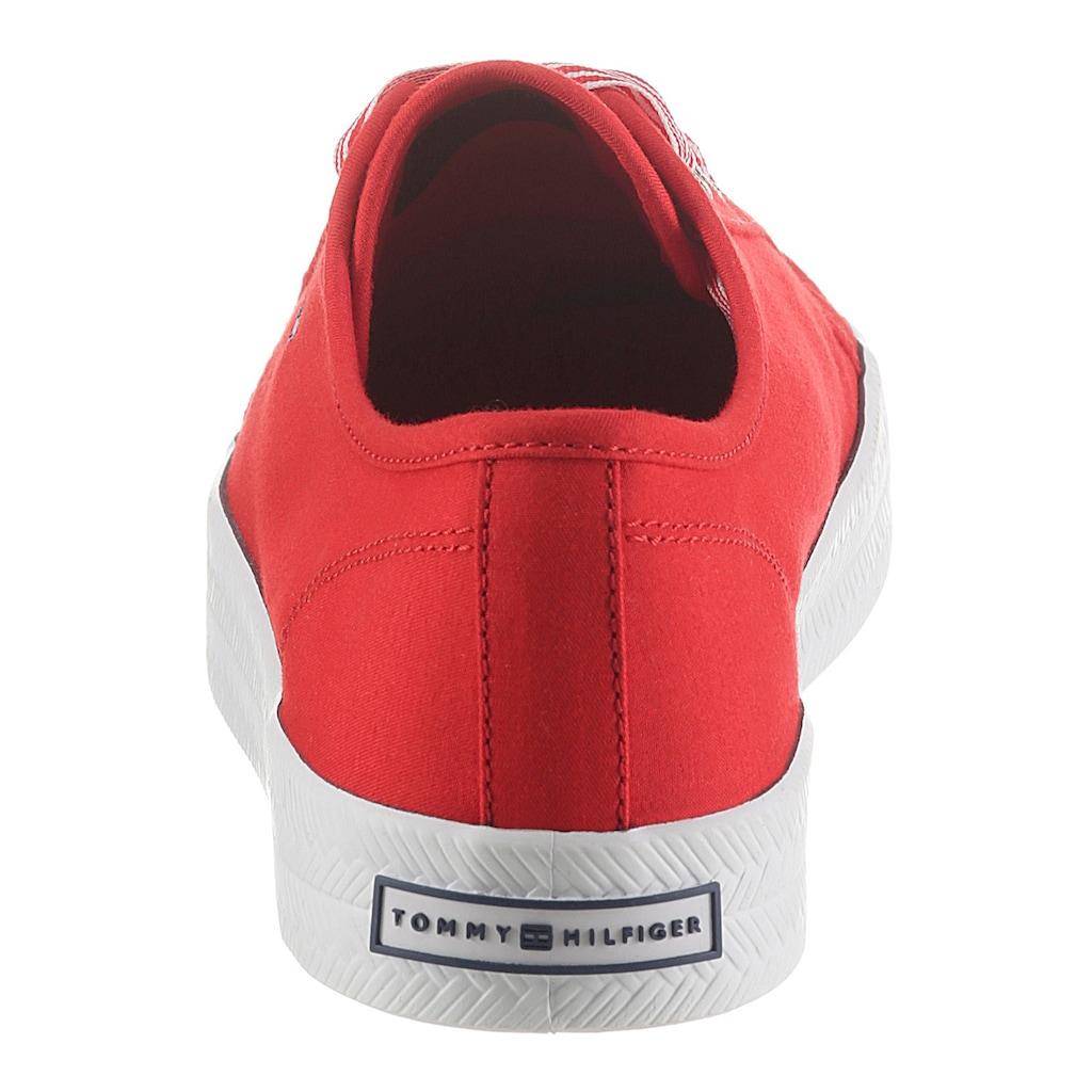 TOMMY HILFIGER Sneaker »ESSENTIAL NAUTICAL SNEAKER«, im Basic-Look