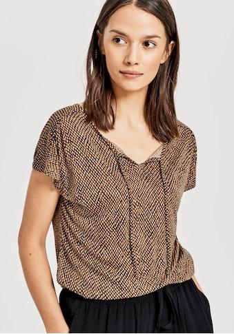 OPUS T-Shirt »Susy«, mit Ethno-Print kaufen