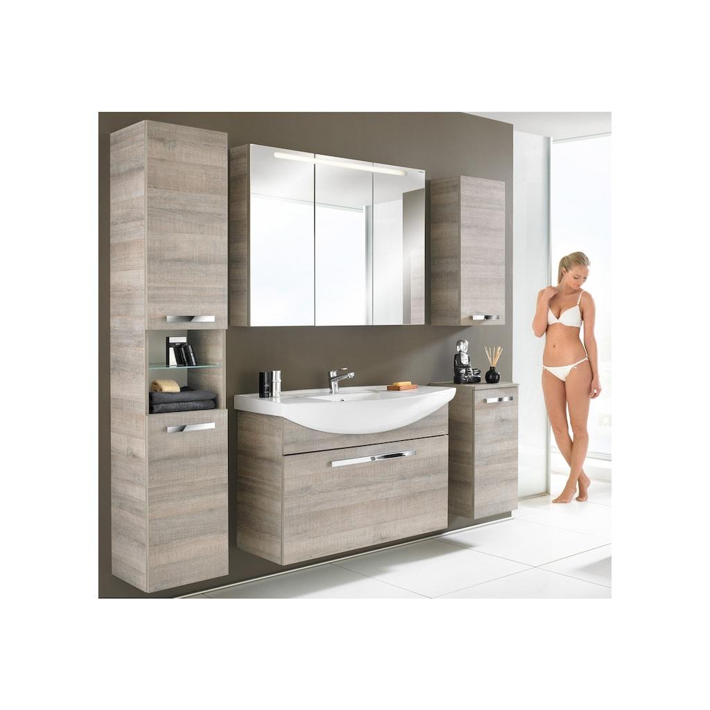 FACKELMANN Spiegelschrank »A-Vero«, Breite 70 cm, LED-Badspiegelschrank doppelseitig verspiegelt