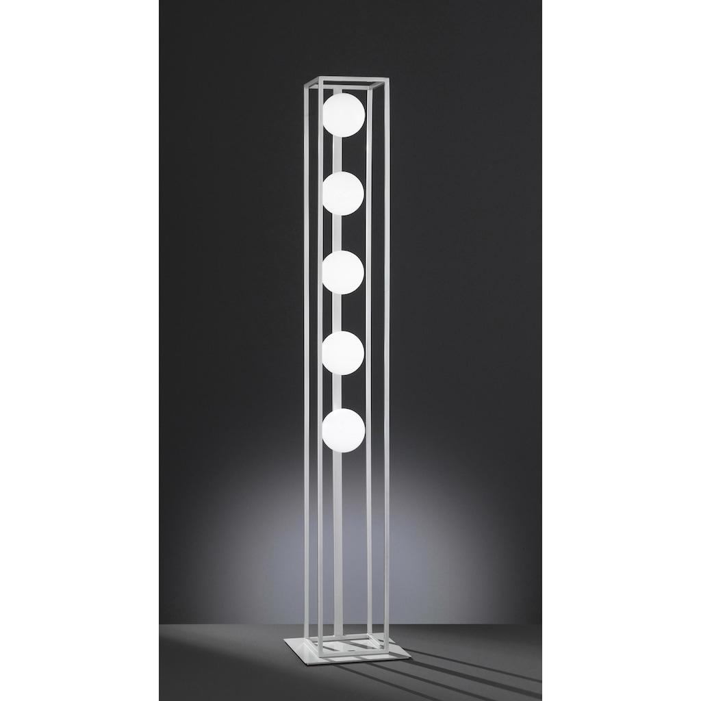 WOFI LED Stehlampe »AURELIA«, G9, Warmweiß