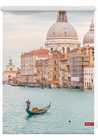 LICHTBLICK ORIGINAL Seitenzugrollo »Klemmfix Motiv Venedig Canal Grande«, Lichtschutz,... kaufen