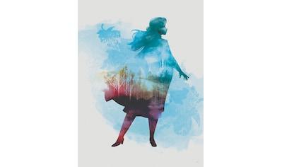 Komar Poster »Frozen Anna Aquarell«, Disney kaufen