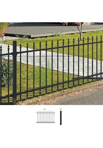 GAH Alberts Metallzaun »Chaussee«, Anbauset 120x200 cm, 1 Pfosten zum Einbetonieren kaufen