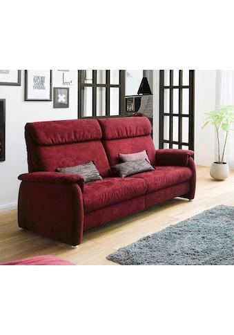 DELAVITA 2-Sitzer »Turin«, wahlweise mit motorischer Relaxfunktion, auch in Leder erhältlich kaufen