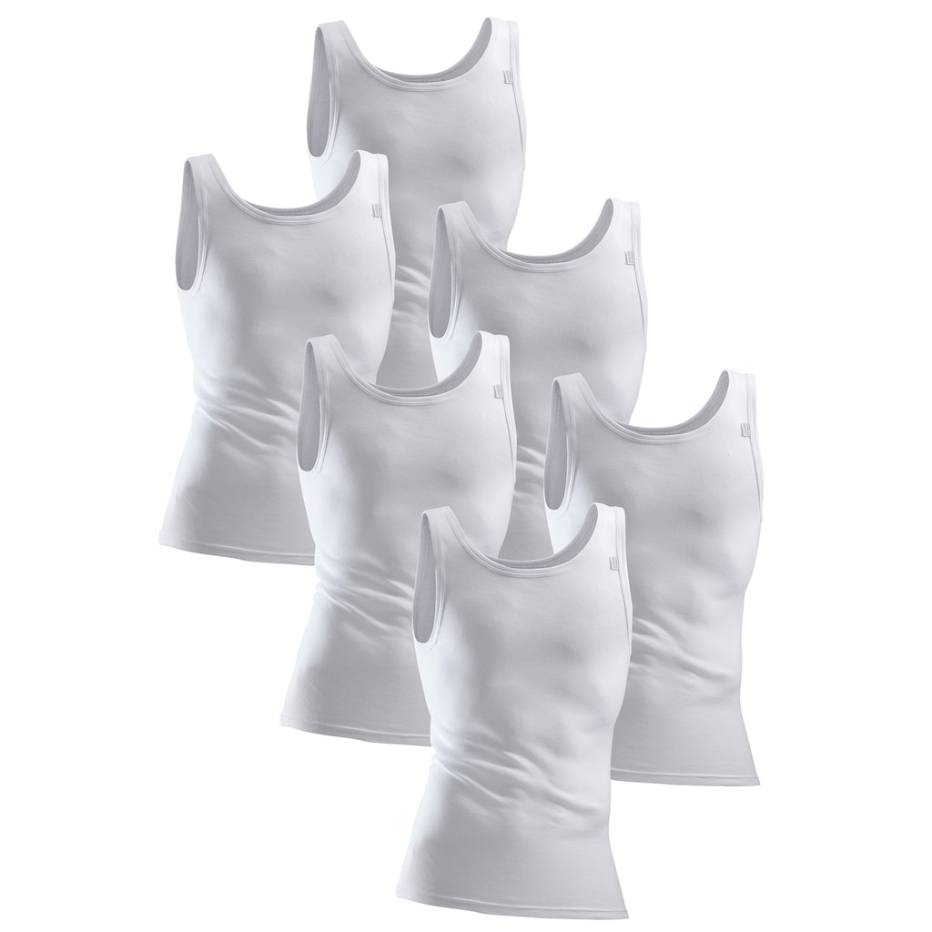 Clipper Exclusive Unterhemd, in Feinripp-Qualität