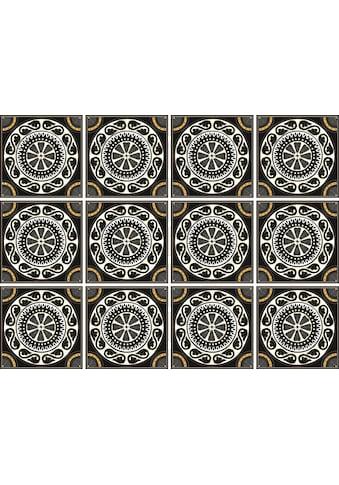 Fliesenaufkleber »Kreise« kaufen