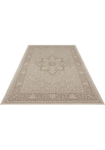 bougari Teppich »Anjara«, rechteckig, 4 mm Höhe, In- und Outdoor geeignet, Flachgewebe, Wohnzimmer kaufen