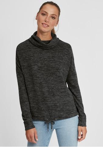 OXMO Hoodie »Belma«, Sportlicher Sweatpullover aus Fleece mit Tube-Kragen kaufen