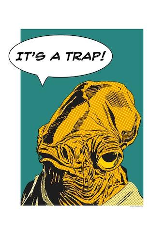 Komar Poster »Star Wars Classic Comic Quote Ackbar«, Star Wars kaufen