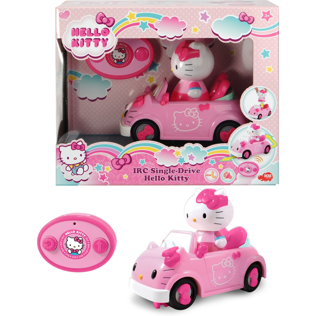 Dickie Toys Spielzeug-Auto »Hello Kitty IRC Single-Drive«