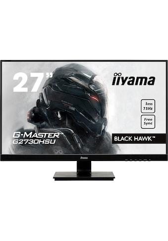Iiyama »G2730HSU - B1« Gaming - LED - Monitor (27 Zoll, 1920 x 1080 Pixel, Full HD, 1 ms Reaktionszeit, 75 Hz) kaufen