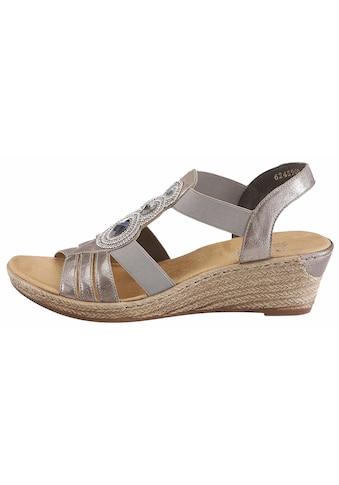 Rieker Sandalette, mit Keilabsatz kaufen