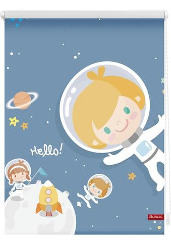 LICHTBLICK Seitenzugrollo »Klemmfix Motiv Astronaut«, Lichtschutz, ohne Bohren,... kaufen