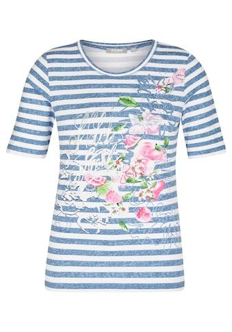 Rabe T-Shirt, mit Streifen und Strasssteinen kaufen