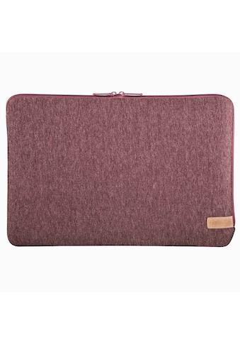 Hama Notebook - Sleeve Jersey, bis 30 cm (11,6), Dunkelrot kaufen