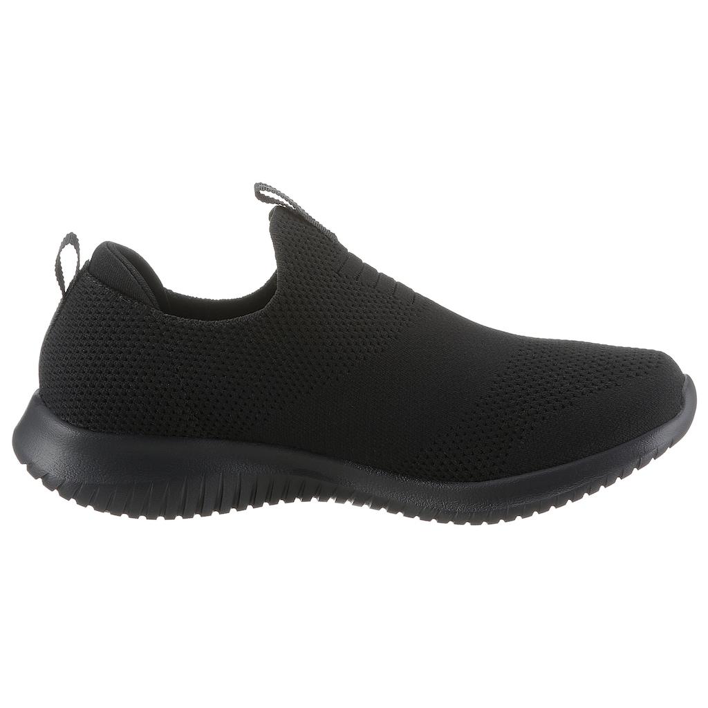 Skechers Slip-On Sneaker »Ultra Flex - First Take«, mit gepolsterter Ferse