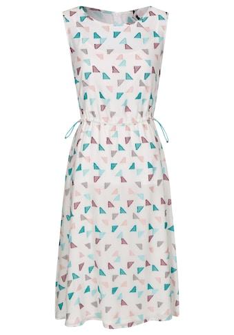 Daniel Hechter Weitenverstellbares Kleid im grafischen Design kaufen