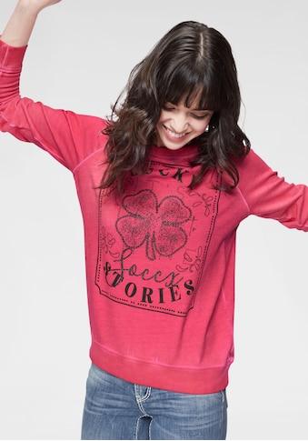 SOCCX Sweater, mit coolem Frontdruck kaufen