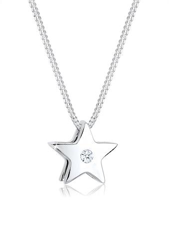 Diamore Collierkettchen »Sterne Diamant 925 Sterling Silber« kaufen