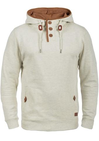 Blend Hoodie »Alexo«, Kapuzenpullover mit Knopfverschluss am Kragen kaufen