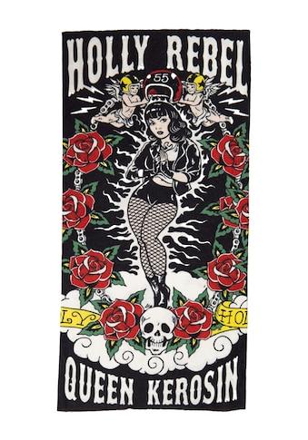 QueenKerosin Multifunktionstuch »Holy Rebel«, aus Coolmax im rebellischen Design kaufen