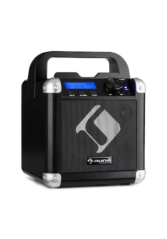 Auna Karaoke - System Bluetooth Akku Tragegriff USB AUX - In »BC - 1« kaufen