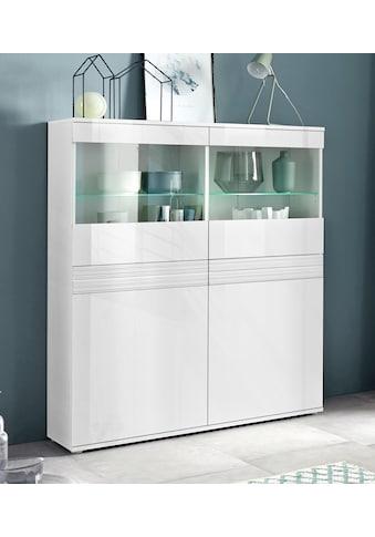 borchardt Möbel Vitrine »Florenz«, Höhe 125 cm kaufen