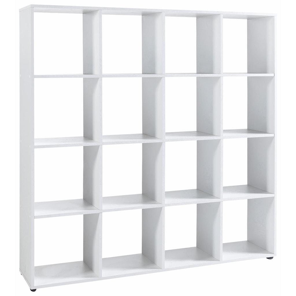 Wilmes Raumteilerregal »Kaba«, mit 16 Fächern