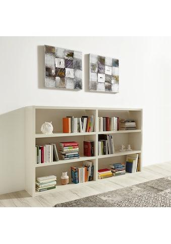 Raumteilerregal »Toro«, 6 Fächer, Breite 185 cm kaufen