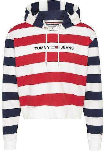 TOMMY JEANS Kapuzensweatshirt »TJW MULTISTRIPE HOODIE« kaufen