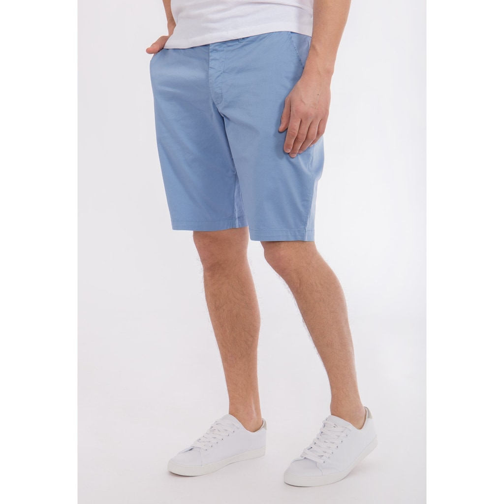 Mexx Shorts, aus Baumwolle mit Kontrastfutter