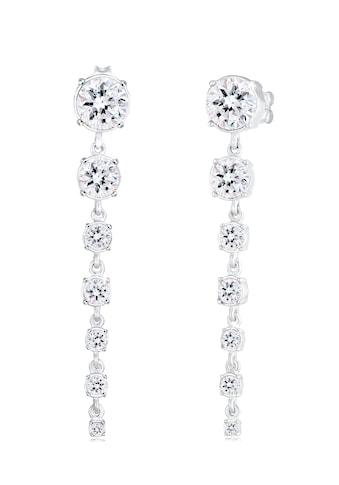 Elli Paar Ohrhänger »Ohrhänger Kristalle 925 Silber« kaufen